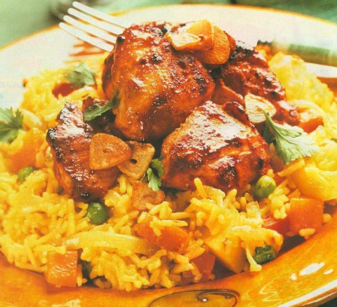 Photo of طريقة عمل طاجن الأرز بقطع الدجاج والكريمة