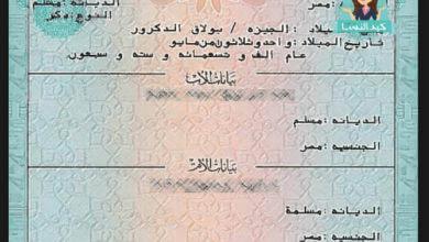Photo of استخراج شهادة ميلاد كمبيوتر لحديثي الولاده