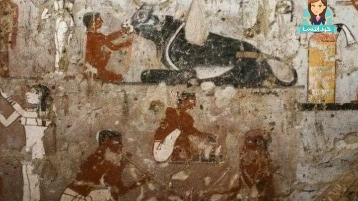 علامات وجود مقبرة فرعونية اثناء الحفر