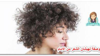 Photo of وصفة لهيشان الشعر من الامام