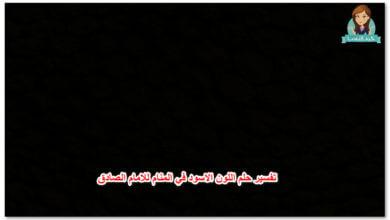 Photo of تفسير حلم اللون الاسود في المنام للامام الصادق