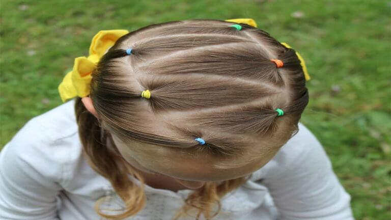 علاج الشعر الخفيف عند الأطفال
